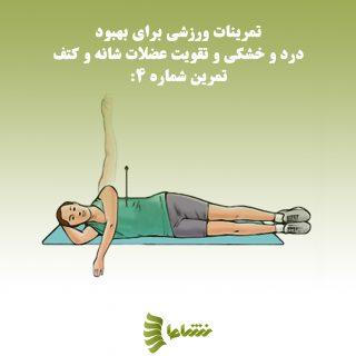 درمان درد شانه و کتف
